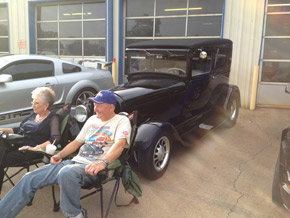Hot Rods on Show Gilmer, TX