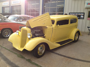 Yellow Hot Rod Gilmer, TX